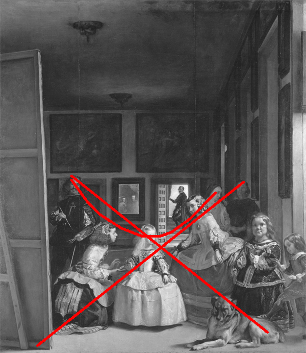 foucault and las meninas In this famous chapter of foucault's seminal book, foucault examines the painting las meninas (the maids of honor, 1656) by spanish painter diego valasquez the painting represents the.