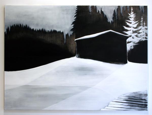 Par Stromberg - As the Shadows Rise - 140x190cm Olieverf op canvas