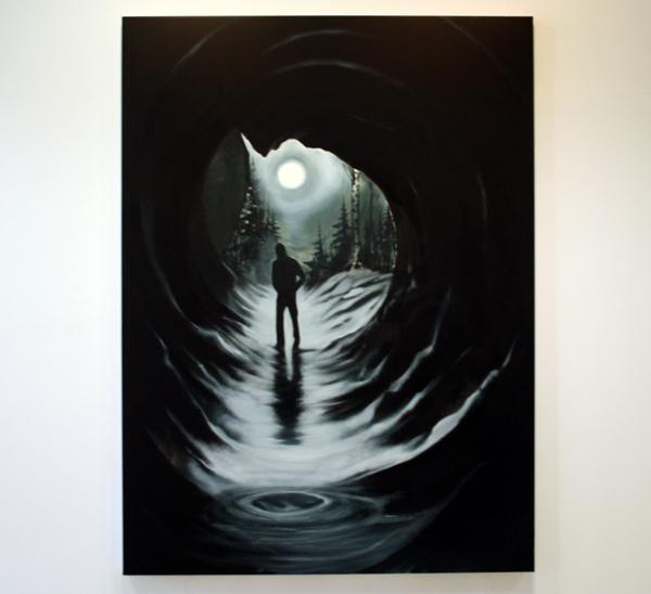 Par Stromberg - Creating The Twillight - 190x140cm Olieverf op canvas