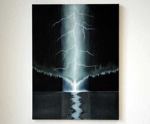 Par Stromberg - Northbound III - 80x60cm Olieverf op canvas
