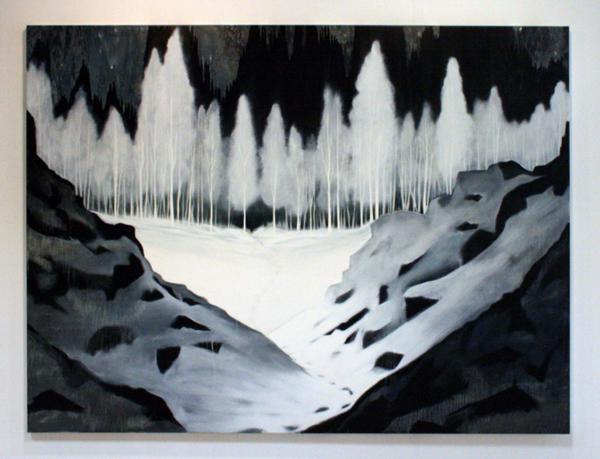 Par Stromberg - Of Ice Movement - 180x240cm Olieverf op canvas