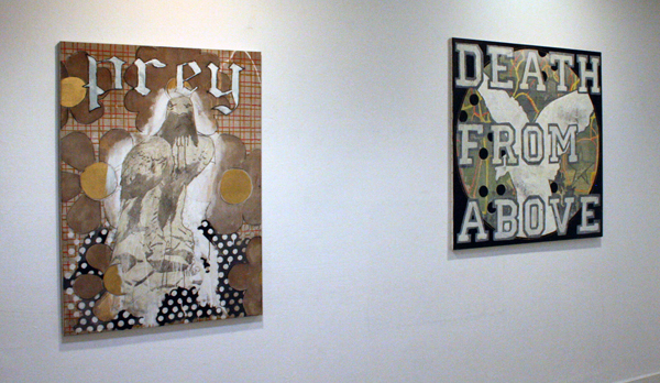 Stief Desmet - Prey & Death From Above - 130x95cm & 120x120cm Olieverf op canvas
