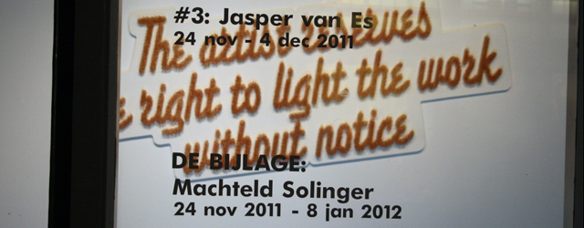 Kunstpodium T Jasper van Es