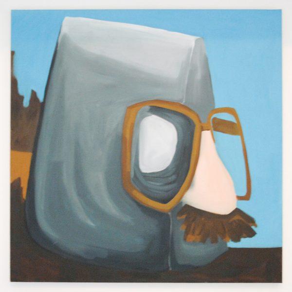 Liselot Veenendaal - Vaculik - 75x75cm Acrylverf op canvas