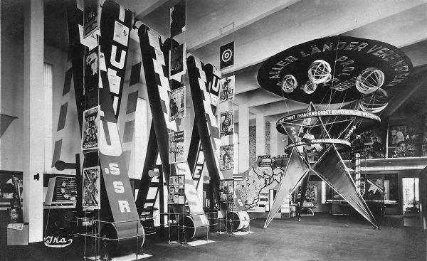 1928 - El Lissitzky - Soviet Union pavilion, Pressa Exhibition, Cologne