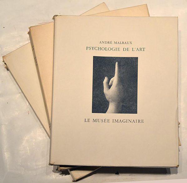 1952 André Malraux - Le musée imaginaire de la sculpture mondiale