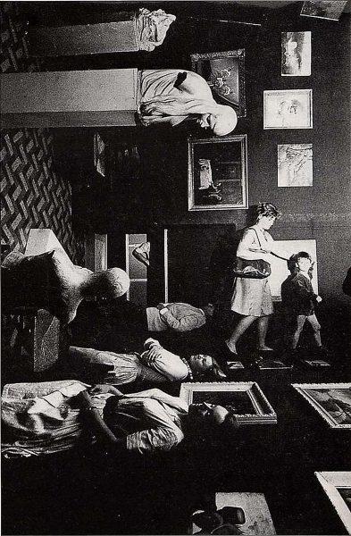 1962 - Daniel Spoerri - Dylaby, Installatie in Stedelijk Museum Amsterdam