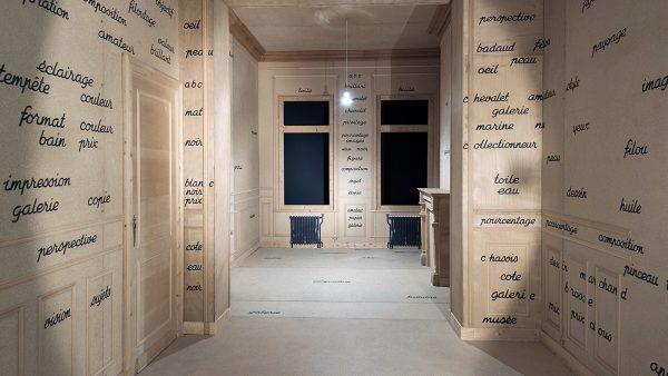 1974 - Broodthaers - La Salle Blanche - Installatie