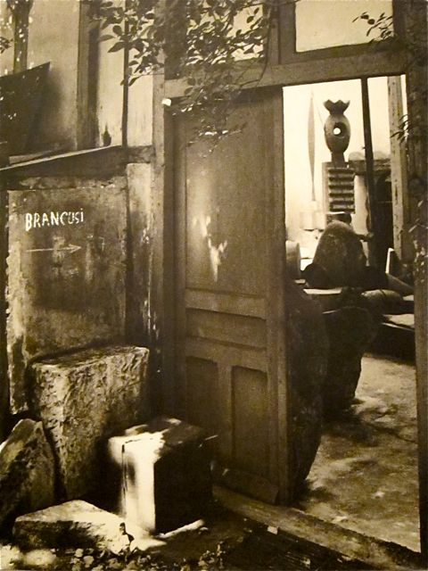 Brancusi - Entree studio