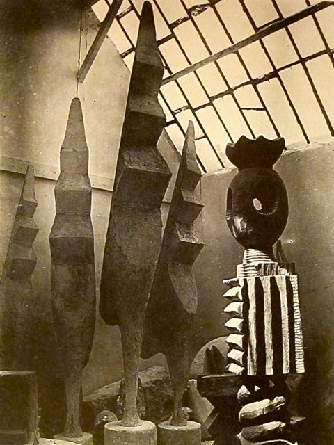 Brancusi - King of Kings & Large Cocks - 1945