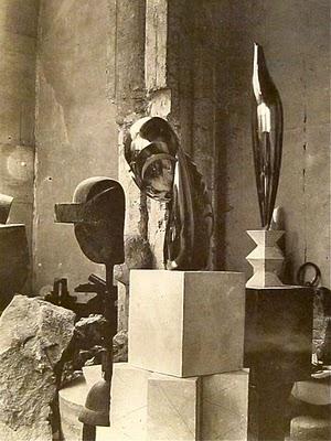 Brancusi - Plato & Mademoiselle Pogany & Golden Bird - 1920