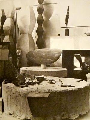 Brancusi - Studio 1933