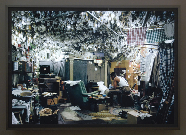 Jeff Wall - After Invisible Man By Ralph Ellison, The Prologue - Dia in lichtbak 2001