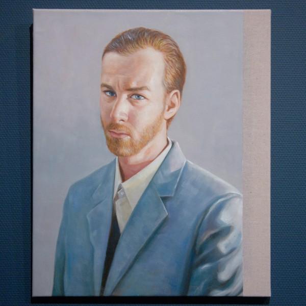 Christian Jankowski - Neue Malerei (Van GoghII) - Olieverf op doek