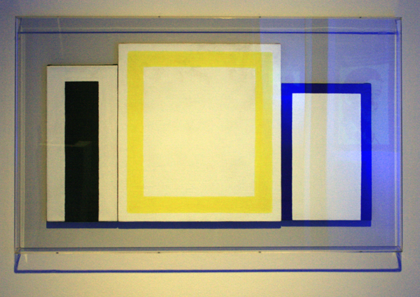 JCJ Vanderheyden - Direluik - 40x83cm Polyvinylverf en temperaverf op doek 1966